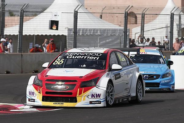 WTCC Esteban Guerrieri dice que tuvo un poco de suerte en Marrakech