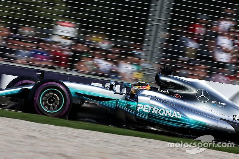 Hamilton et Mercedes doivent travailler sur l'exploitation des pneus