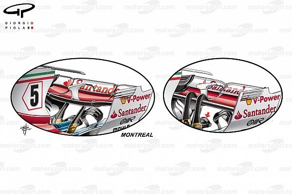 Formula 1 Analisi tecnica: ecco la Ferrari a medio carico del GP di Canada
