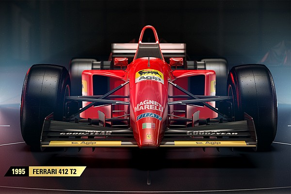 Sim racing Top List Gallery: The classic cars that will star in F1 2017