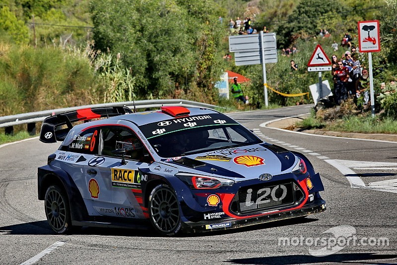 Sordo benched by Hyundai for Australia WRC finale