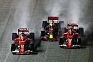 A Red Bull telemetriája szerint Verstappen lassított a szingapúri baleset előtt