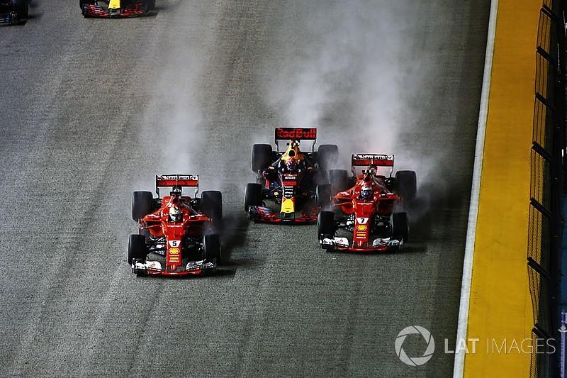 """Verstappen accuse Vettel: """"Il a commencé à me tasser"""""""