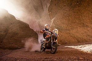 Dakar Breaking news Price frustrated by costly navigation errors
