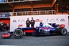 Видео: первый выезд на трассу Toro Rosso STR12
