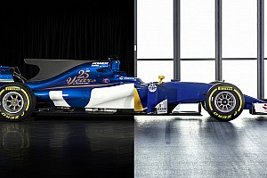Vergelijking: Sauber in 2016 en 2017