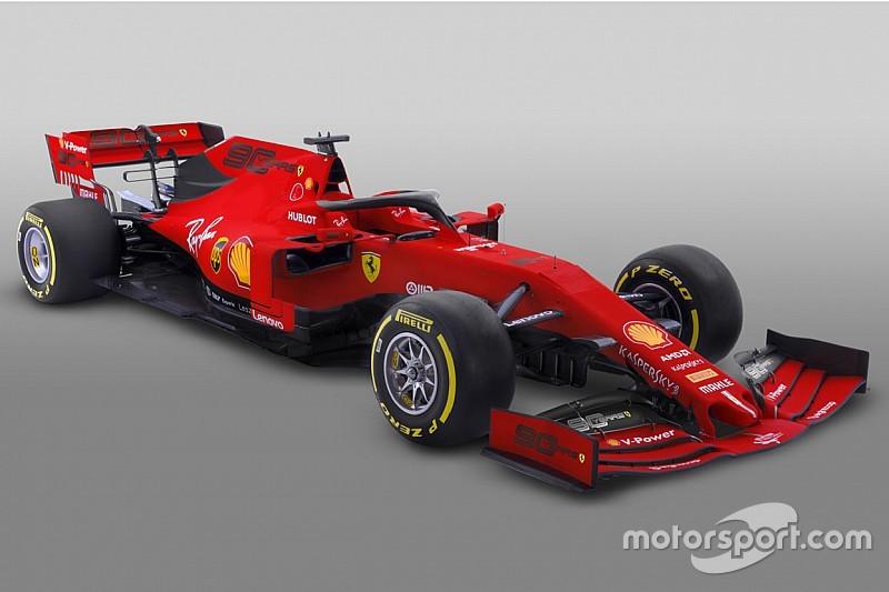 フェラーリ、開幕戦仕様の『Mission Winnow』なしカラーリングを公開
