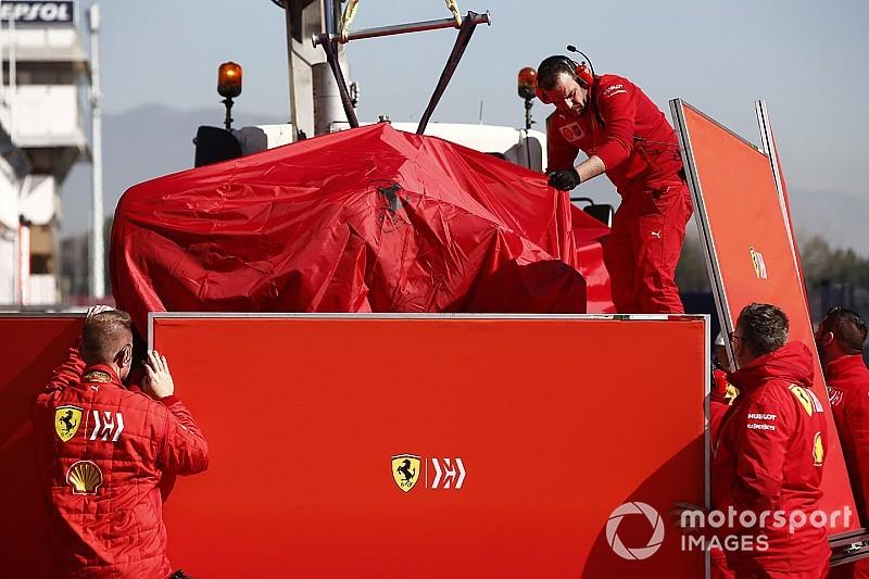 Idegen tárgy okozta Vettel és a Ferrari vesztét szerdán