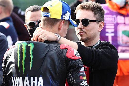 """Jorge Lorenzo salue un titre """"mérité"""" pour Quartararo et Yamaha"""