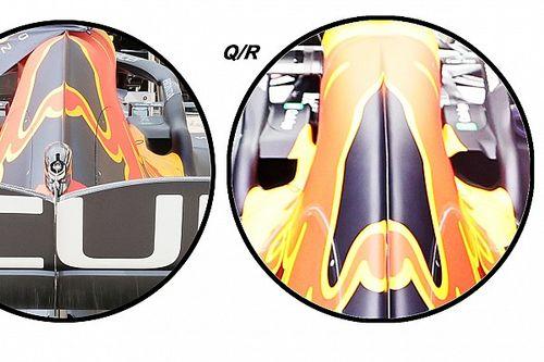 Red Bull: gli sfoghi d'aria del motore sono asimmetrici