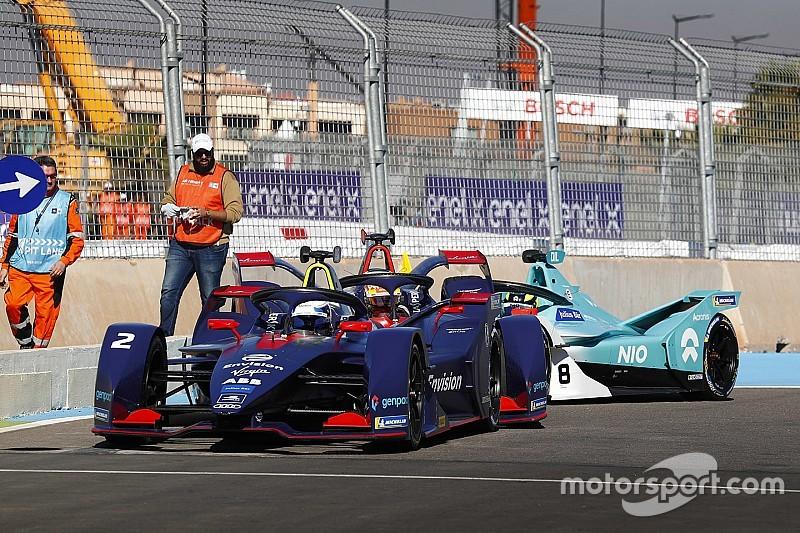 Formel E Marrakesch: Sam Bird nach kurioser Kollision auf Pole