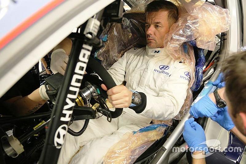 Hyundai: Loeb ha fatto il sedile per la i20 WRC prima di partire per la Dakar 2019
