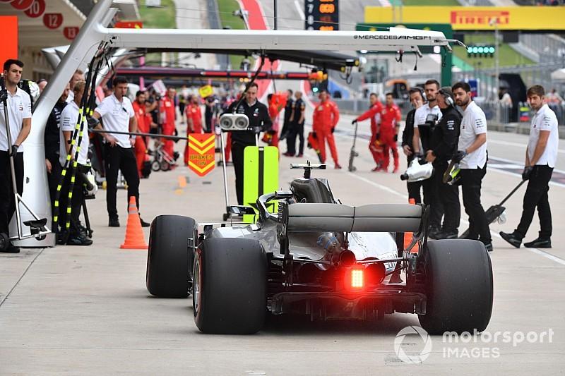 Pirelli takımlara arka lastik basınçlarını arttırmaları gerektiğini söyledi