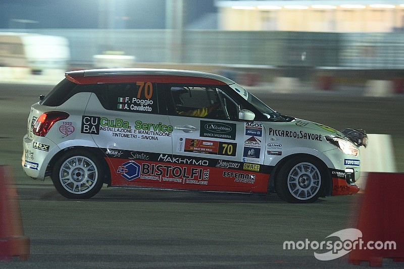 Suzuki Rally Trophy: nella prova spettacolo in notturna emerge Goldoni