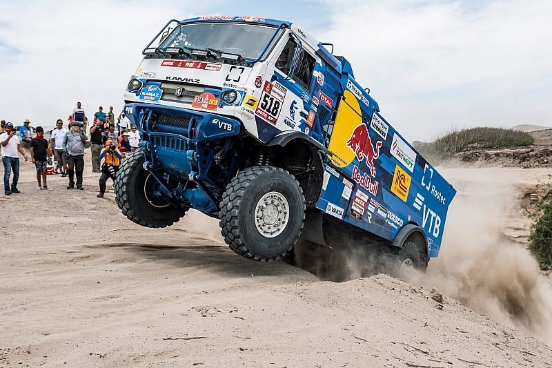 Villagra se cae en la categoría de camiones