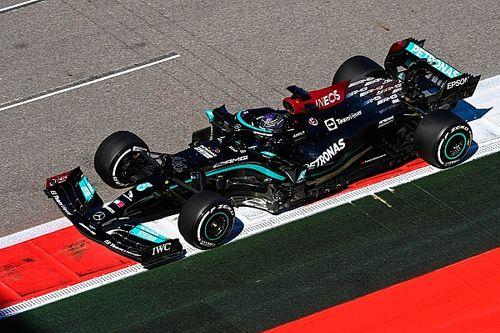 Mercedes descarta un cambio de motor para Hamilton en Rusia