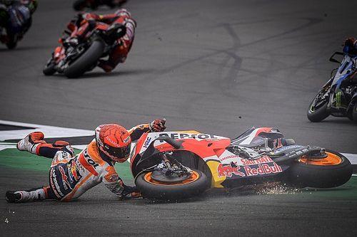Les risques toujours pris par Márquez étonnent Lorenzo