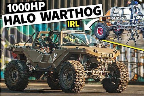 Ezer lóerővel keltették életre a Halo-sorozat eszméletlen Warthogját