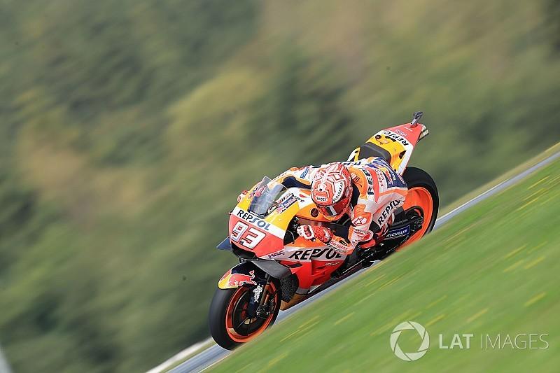 FP4 MotoGP Austria: Marquez lanjutkan momentum, duo Yamaha tercecer