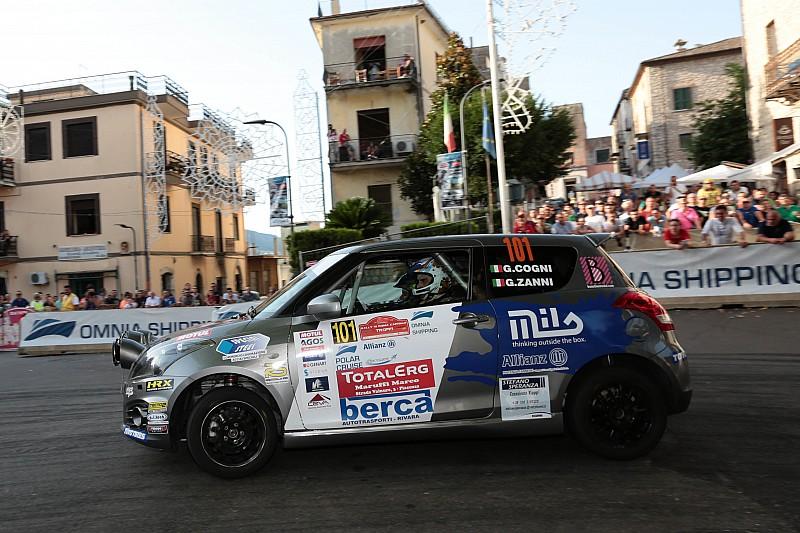 Suzuki Rally Trophy: Giorgio Cogni e Gabriele Zanni conquistano Roma
