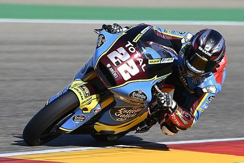 Moto2, Teruel: pole da record per Lowes, italiani attardati