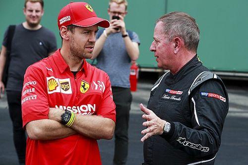 Brundle speculeert over toekomstplannen Sebastian Vettel