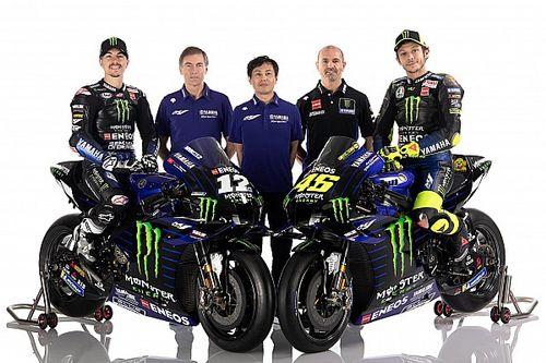 MotoGP 2020: Erste Bilder der neuen Yamaha M1 mit Rossi und Vinales