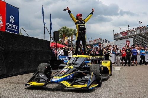 St. Pete IndyCar: Herta, domine ederek kazandı