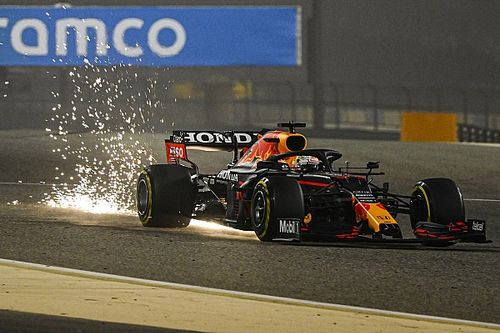 Verstappen ends first day of F1 pre-season testing on top