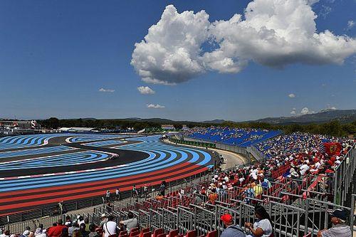 Weerbericht F1 Grand Prix van Frankrijk: Tropisch warm op Paul Ricard
