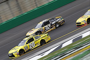 NASCAR Cup Breaking news After first Cup practice, Goodyear says