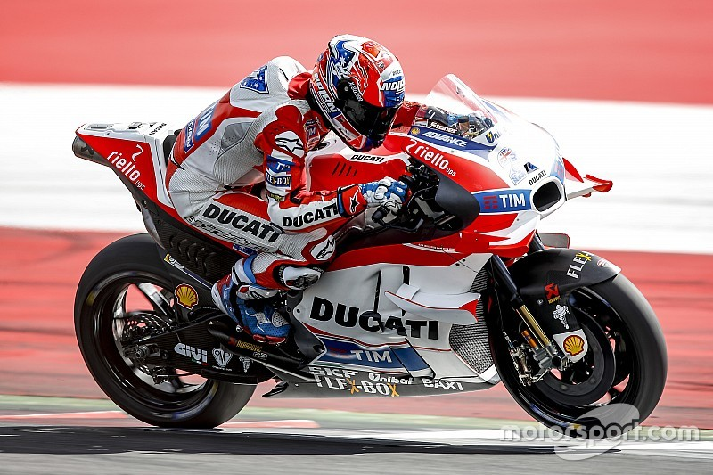 Ducati says Lorenzo knows its bike is competitive