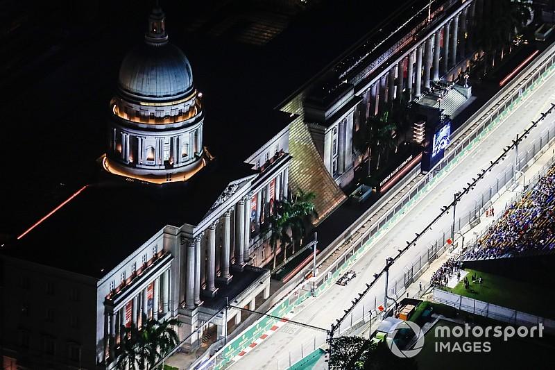 Онлайн. Гран При Сингапура: квалификация
