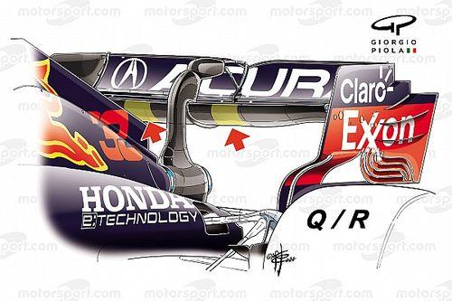 Red Bull: rinforzata l'ala posteriore, c'è il rischio crepe?