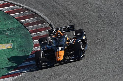 O'Ward leads Jones, Grosjean in eight-car Laguna Seca test