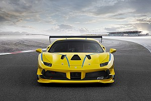 Ferrari Breaking news Ferrari reveals turbocharged 488 Challenge car for 2017