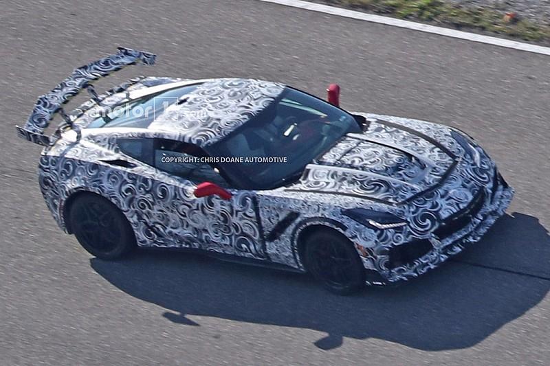 Spyshots - La Corvette C7 ZR1 se montre