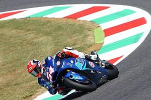 Moto2 Relato da corrida Pasini vence duelo a três pela vitória em Mugello