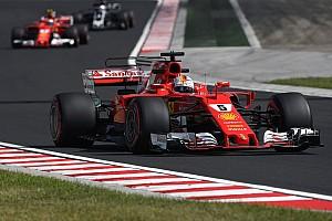 Formel 1 Trainingsbericht Formel 1 2017 in Budapest: Ferrari dominiert 3. Training mit Vettel