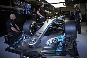 Formula 1 Özel Haber Mercedes'in Formula 1 aracı ne kadar büyük?