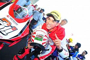 ARRC Race report ARRC Jepang: Gerry Salim menangi duel hingga lap terakhir