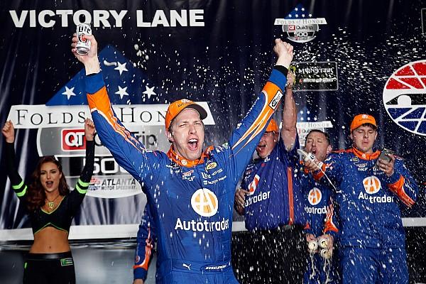 NASCAR Sprint Cup Brad Keselowski gana en Atlanta en un final dramático