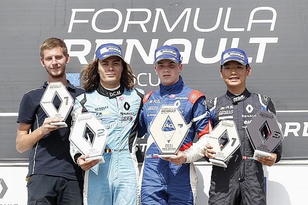 Formula Renault 比赛报告 雷诺方程式:亚军,叶一飞再登领奖台