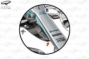 Formula 1 Analisi Mercedes: il nuovo muso è stato sottoposto a crash test frontale