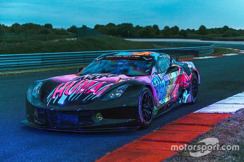 Larbre Compétition avec une livrée fluorescente pour Le Mans!