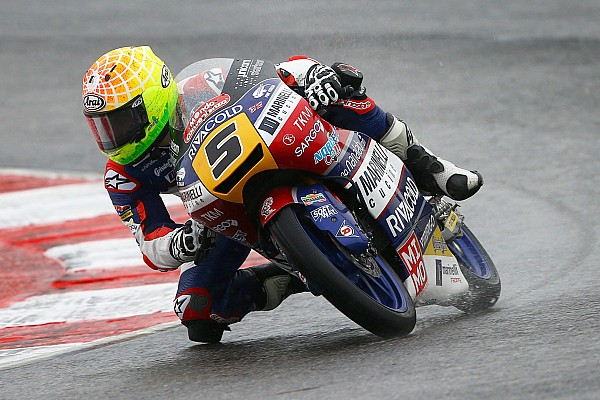Moto3 Reporte de la carrera Aplastante triunfo de Fenati en la lluvia