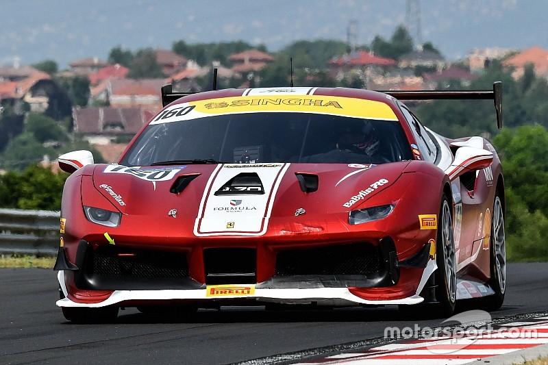 Ferrari Challenge Europe: a Silverstone vincono Di Amato, Froggatt e Hassid