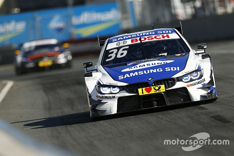 DTM 2017 am Norisring: BMW-Fahrer Maxime Martin auf Pole-Position