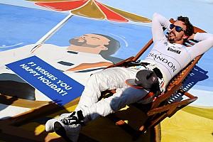 Fórmula 1 Noticias Alonso se robó la atención de la carrera en Hungría