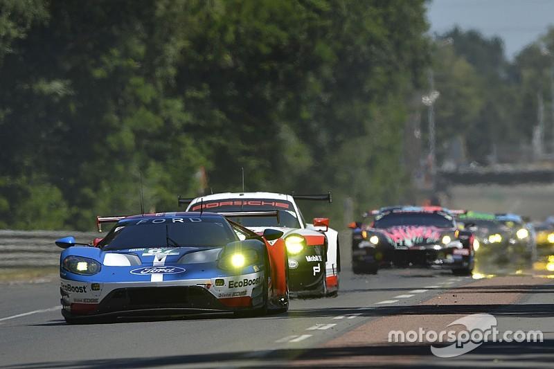 """Final lap of Le Mans GTE battle """"like a movie"""" - Tincknell"""